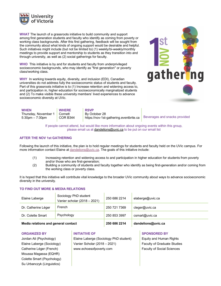 SHARE nov 1st gathering information sheet FINAL